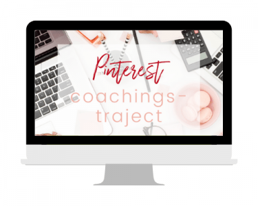 Pinterest coachingstraject