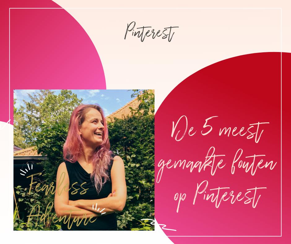 De 5 meest gemaakte fouten op Pinterest
